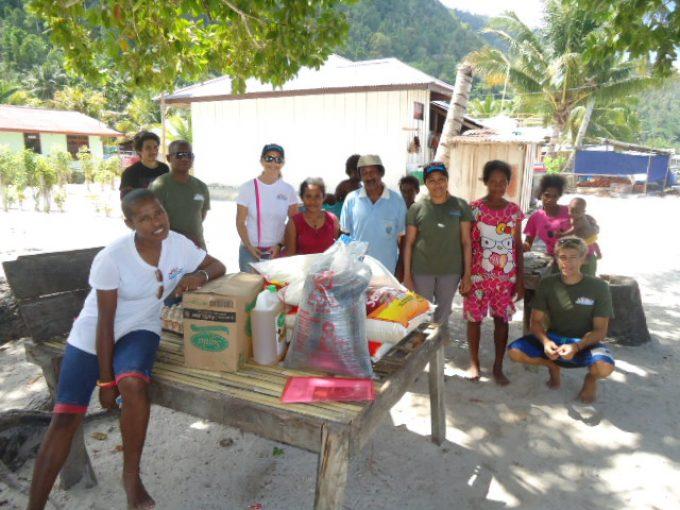 Village donations