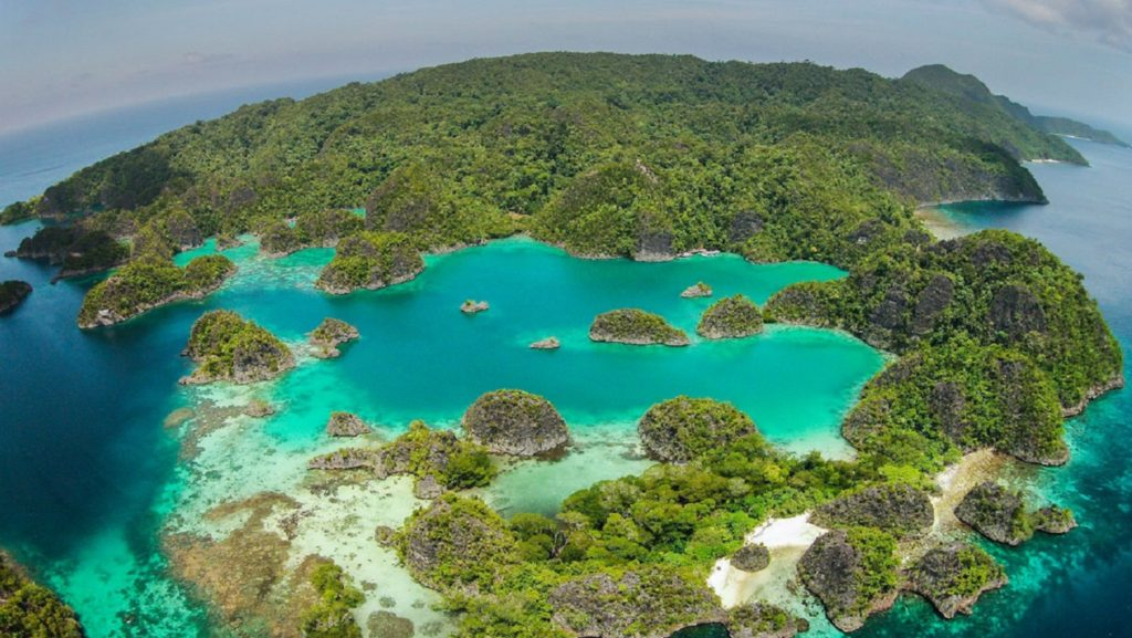 visiting the fam and penemu islands on a day trips is one of the great activities in Raja Ampat