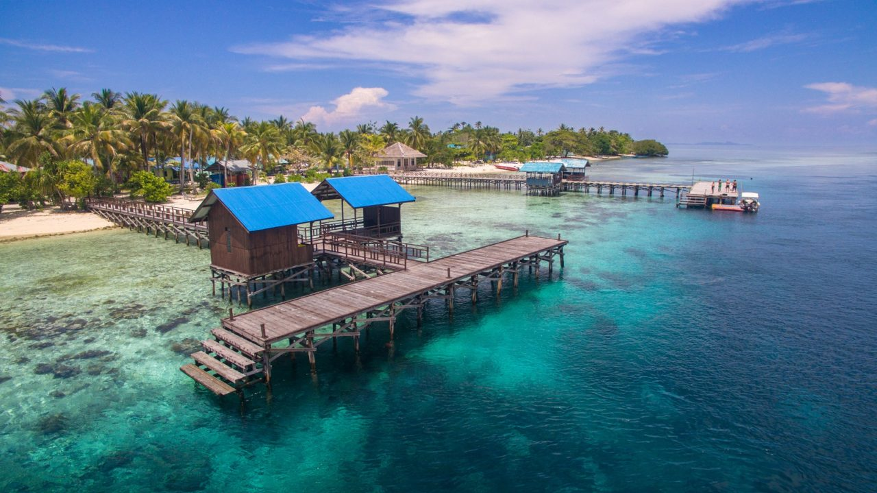 Image Of Arborek Jetty close to Papua Explorers Dive Resort
