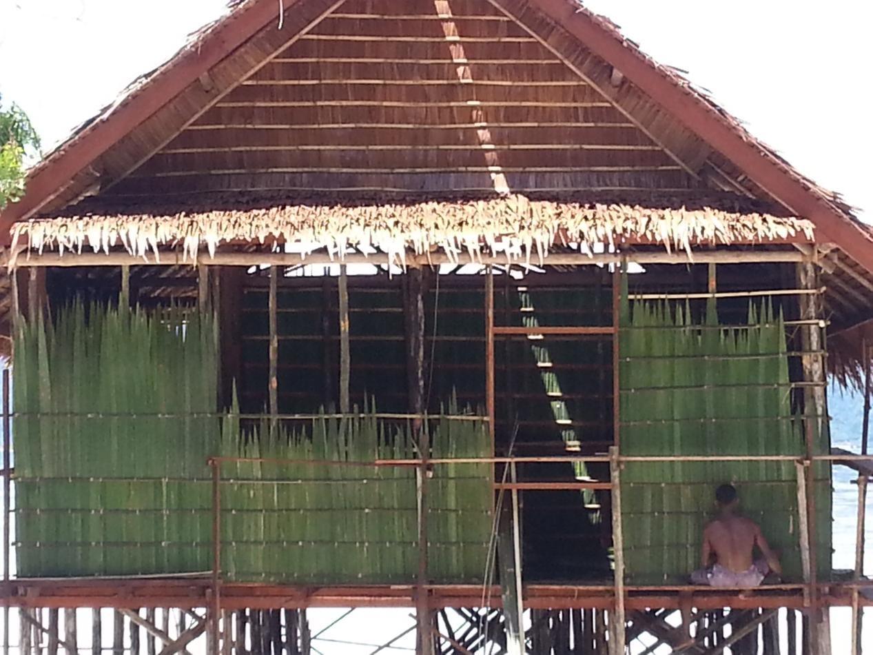 Bungalow Construction Papua Explorers Eco Resort