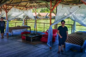 The Papua Explorers masseuses will turn your Raja Ampat holidays into a little retreat with their spa treatments.