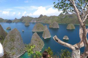 beautiful view in Wayag, Raja Ampat