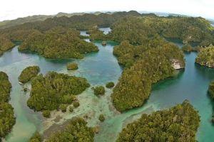 the hidden bay in raja ampat