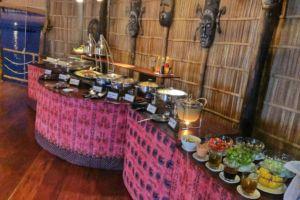Dinner Buffet at Papua Explorers Resort