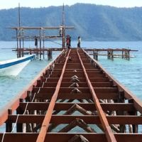 Jetty and Dive Centre Construction Papua Explorers